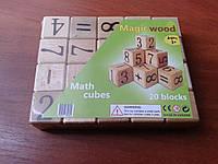 Услуги упаковки деревянных кубиков в пленку ПВХ.