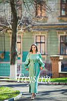Платье женское лен выпускное, лен,бохо шик,вишите плаття,этно,свадебное вышитое платье