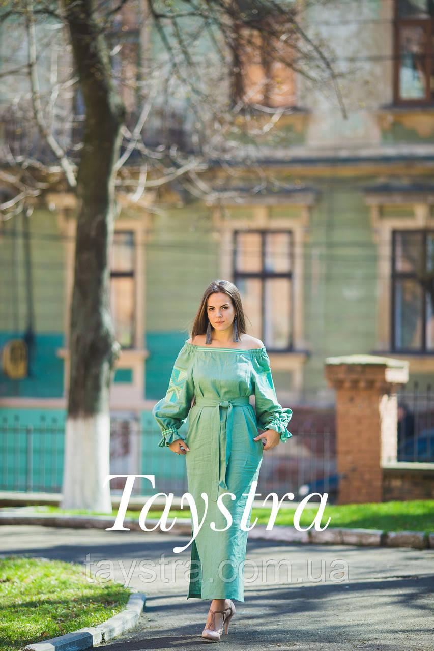 Платье женское лен выпускное e82ae509f4cbc