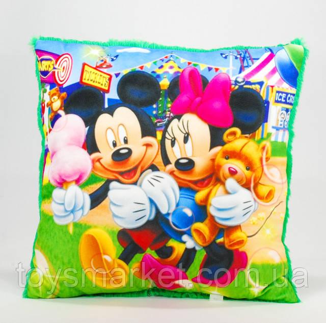 Плюшевая подушка Микки Маус