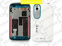 Корпус HTC T328w Desire V, белый, оригил (Китай)