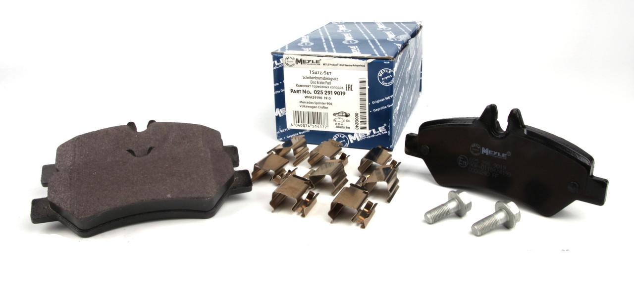 Колодки тормозные (задние) MB Sprinter 209-319 CDI/VW Crafter 30-35 06- Meyle