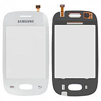 Touch screen Samsung S5312 белый