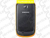 Корпус Samsung S5570 Galaxy Mini, чёрно-оранжевый