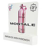 Мини парфюм с феромонами Montale Roses Elixir ( Монталь Розес Элексир) 5 мл