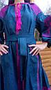 Вышитое платье  бохо вышиванка лен, этно, стиль бохо шик, вишите плаття вишиванка, Bohemian,стиль Вита Кин, фото 7
