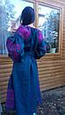 Вышитое платье  бохо вышиванка лен, этно, стиль бохо шик, вишите плаття вишиванка, Bohemian,стиль Вита Кин, фото 8