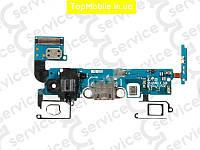 Шлейф  Samsung A500K Galaxy A5 Duos/A500F/A500H,REV0.2, с разъемом зарядки, с разъмом ушников, с кнопкой Home, с сенсорными кнопками, с микрофоном