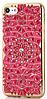 Красный силиконовый чехол для Iphone 5/5S