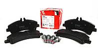 Колодки тормозные задние MB Sprinter 509-519 CDI/VW Crafter 50, 06- (спарка) TRW