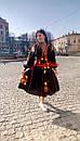 Платье вышитое бохо,вышиванка лен,4 клина, стиль бохо шик, вишите плаття вишиванка, Bohemian,стиль Вита Кин, фото 2