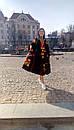 Платье вышитое бохо,вышиванка лен,4 клина, стиль бохо шик, вишите плаття вишиванка, Bohemian,стиль Вита Кин, фото 6