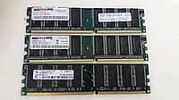 Модули памяти DDR 1 Gb 400 Mhz для ПК