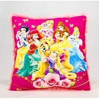 Детская подушка, Принцессы, розовая