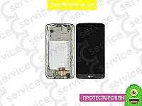 Модуль  LG D690 G3 Stylus (дисплей + тачскрин), серый, с предней панелью, оригил (Китай)