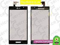 Тачскрин  LG P760 Optimus L9/P765/P768, чёрный, оригил (Китай) (сенсор, touch screen)