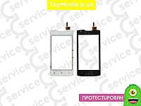 Тачскрин  Lenovo A1000 IdeaPhone, белый (сенсор, touch screen)