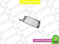 Тачскрин  Samsung G361F Galaxy Core Prime VE LTE/G361H, серебристый, оригил (Китай) (сенсор, touch screen)