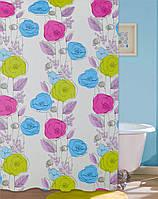 Шторка для ванной комнаты Colorful flowers