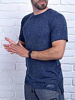 Мужская спортивная футболка MD Dark blue