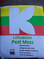 Кислый торф Klasmann Peat Moss, природный белый сфагнум 200 л. идеально для Голубики.