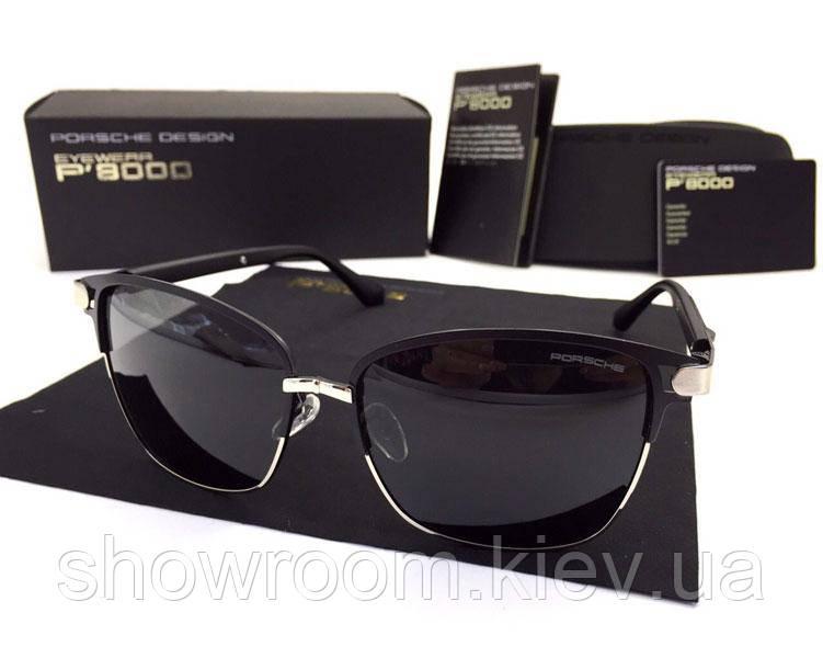 Солнцезащитные очки в стиле Porsche Design  (p-2017) silver