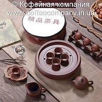 Набор китайской чайной церемонии керамический подарочный большой 12 предметов 9327