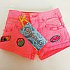 Детские летние шорты для девочки