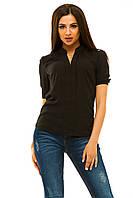 Женская блузка 239 черная CП