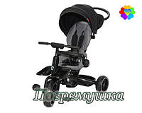 Детский трехколесный велосипед Crosser T 600 Eva - Черный