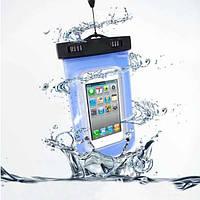 """Универсальный прозрачный водонепроницаемый чехол для телефонов до 5.5"""""""
