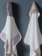 Детские махровые полотенца с уголком для новорожденных от Casual Avenue