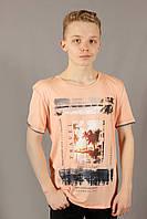 Футболка мужская персиковая MCL Размеры M/50 XL/54, фото 1