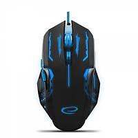 Мышь Esperanza MX403 Apache Black/Blue (EGM403B) 2400dpi