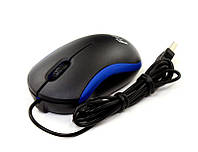 Мышь Frime FM-010, Black/Blue, USB
