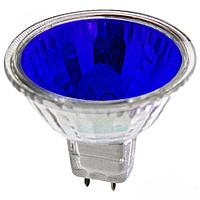 Зеркальная галогенная лампа Lemanso JCDR 50W 230V синяя
