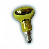 Лампа рефлекторная Lemanso R-50  40W желтая