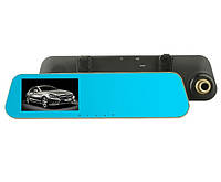 Автомобильный видеорегистратор зеркало DVR 101 Full HD 1080p 140 градусов с камерой заднего вида