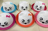 Шляпа детская котик
