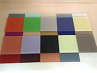 Стекло крашенное, покраска стекла по каталогу RAL