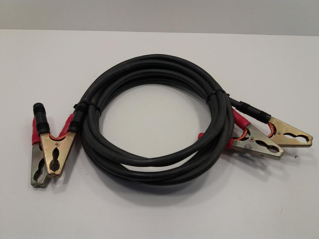 Комплект кабелей КГ16 для подзарядки автомобильных аккумуляторов  (3м+3м)