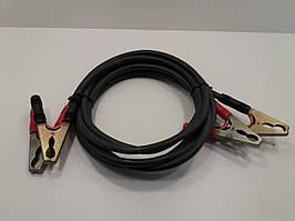Комплект кабелів КГ16 для зарядки автомобільних акумуляторів (3м+3м)