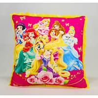 Детская подушка, Принцессы, желтая