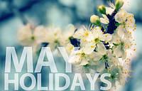 График работы компании Светловодск-Комплект на майские праздники