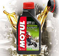 Масло для 2-х тактных двигателей мотоцикла Motul Scooter Expert 2T (1л)