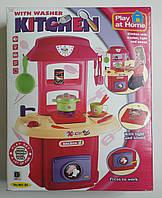 Кухонный игровой набор с посудой и звуковыми эффектами