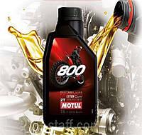 Масло для 2-х тактных двигателей мотоцикла Motul 800 2T Road Racing (1л)
