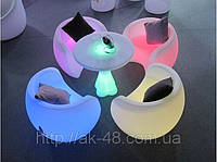 Светящаяся мебель.Мебель для кафе.