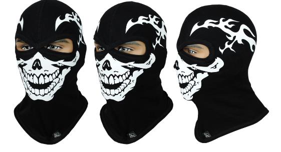 Балаклава с черепом Rough Radical Scull S2 (original), маска, подшлемник