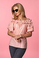 Блуза рюшка